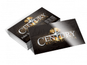 century-records-business-card
